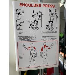 Shoulder press technogym