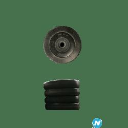 Lot de 8 disques LesMills de 5kg noir