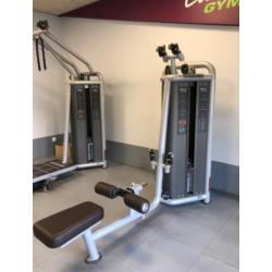Lot appareils de fitness et musculation professionnels