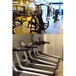 Lot machines musculation et cardio Professionnel
