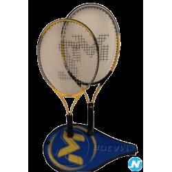 lot de 2 raquettes de tennis