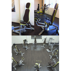 CIRCUIT TRAINING COMPLET 9 MACHINES