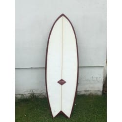 Planche de surf Retro DELMAR twin fish