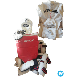 Equipement complet taekwondo taille 5