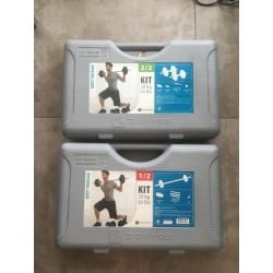 Lot de 2 Kits d'Alteres Domyos 30KG DECATHLON