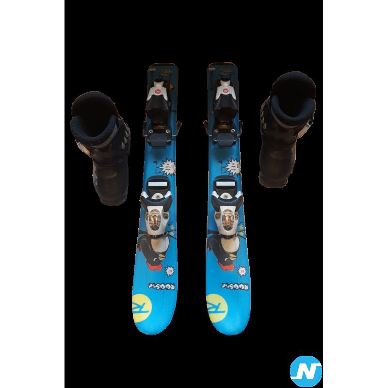 Ski alpin et chaussures enfant
