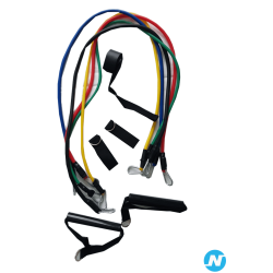 Kit elastique de resistance