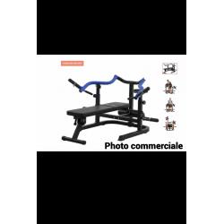 développé-couché bras convergent, maxxus g-motion