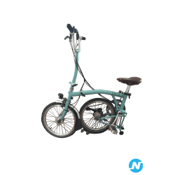 vélo pliable M6L brompton selle brooks
