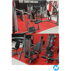 Lot appareil musculation Life fitness