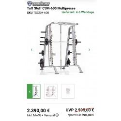 Cadre Guidé Tuff Stuff Multipress CSM-600