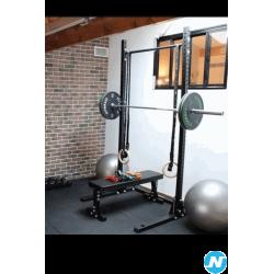 Lot musculation : rack et station dips