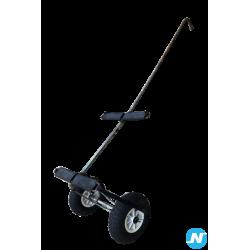chariot de transport avec timon pour planche à voile ou paddle