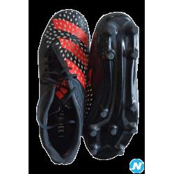 Adidas Predator Malice FG noir – T42 2/3 - Chaussure de rugby
